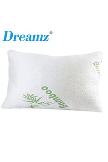 DreamZ 2 Pack Bamboo Memory Foam Pillow and Cover - 279687