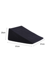 DreamZ 25cm Cool Gel Memory Foam Wedge Pillow with Cover