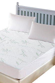 DreamZ Fully Fitted Waterproof Breathable Bamboo Mattress Protector - 279695