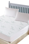 DreamZ Fully Fitted Waterproof Breathable Bamboo Mattress Protector