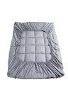 DreamZ 1000GSM Bamboo Charcoal Microfibre Mattress Topper