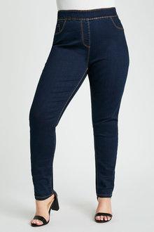 Sara Pull On Slim Leg Jean - 279770