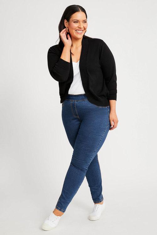 Sara Pull On Slim Leg Jean