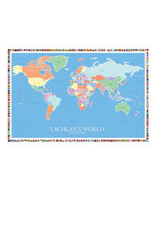 Personalised World Map - 279773