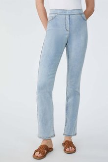 Capture Superstretch Pull On Straight Leg Jeans - 279787
