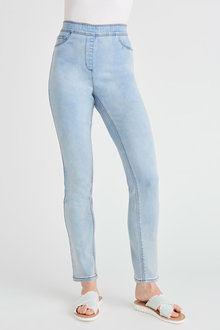 Capture Superstretch Pull On Slim Jeans - 279788