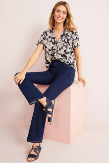Capture Superstretch Pull On Boot Leg Jeans - 279789
