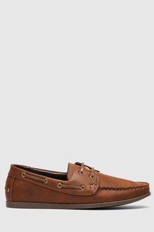 Uncut Shoes Benito Deck Shoe - 279936