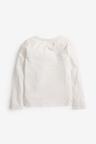Next Ecru Sequin Unicorn Long Sleeve T-Shirt