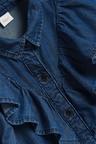Next Denim Frill Shirt