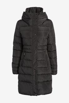 Next Black Padded Coat - 280229