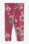 Next Plum Floral Leggings