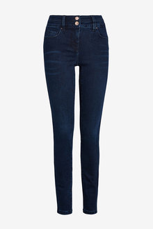 Next Inky Wash Lift, Slim And Shape Skinny Jeans - 280251