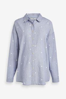 Maternity Chambray Spot Shirt - 280273