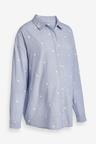 Maternity Chambray Spot Shirt