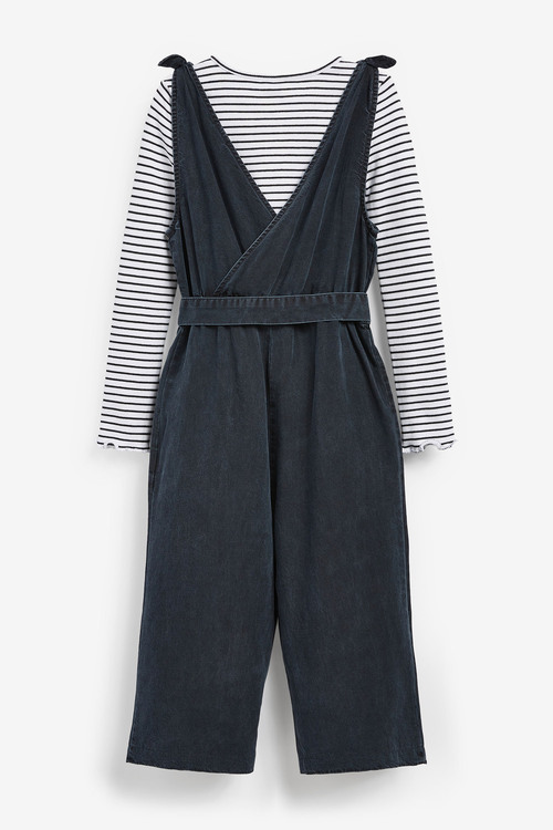 Ink Jumpsuit With T-Shirt