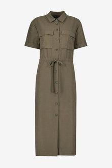 Khaki Emma Willis Utility Dress - 280422