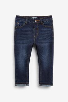 Next Indigo Slim Fit Slim Fit Jeans With Stretch (3mths-7yrs) - 280469