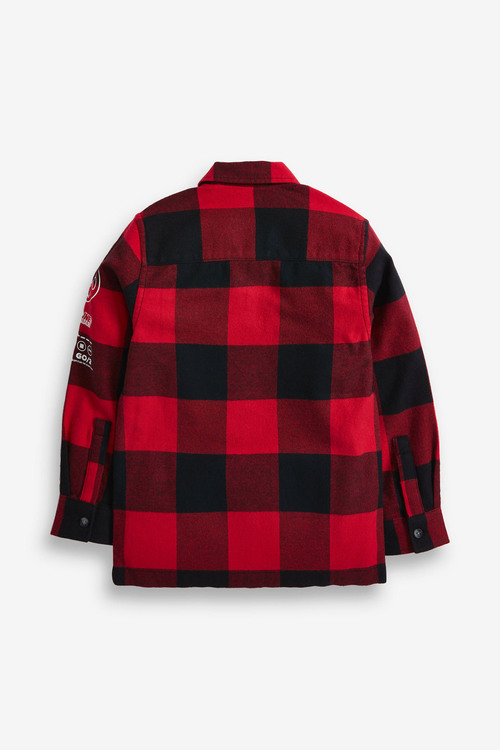 Red Buffalo Check Long Sleeve Shirt