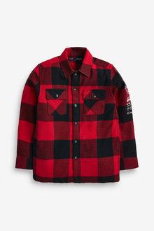 Red Buffalo Check Long Sleeve Shirt - 280470