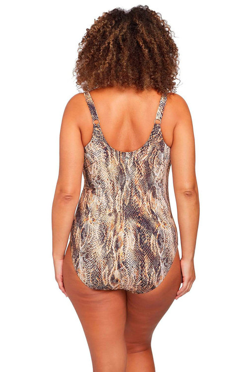 Artesands Ser'Piente Brown Delacroix One Piece