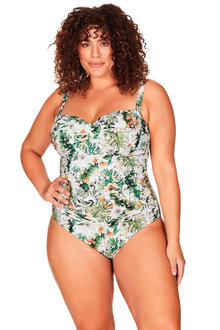 Artesands Viva La Eden Green Botticelli Underwire Bandeau One Piece - 280497