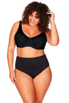 Artesands Aria Black Giotto High Waist Swim Pant - 280513