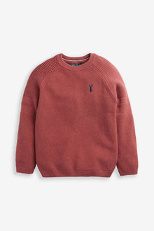 Next Textured Crew Jumper (3-16yrs) - 280650