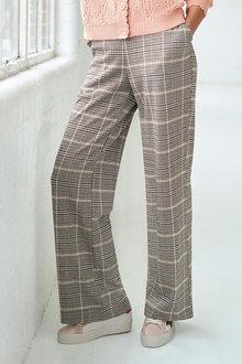 Next Jersey Wide Leg Trousers - 280737