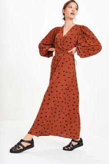 Next Wrap Dress - 280829
