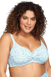 Artesands Plein Air Blue Monet Soft Cup Underwire Bikini Top - 280847