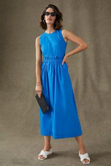 Grace Hill Poplin Maxi Dress - 280925