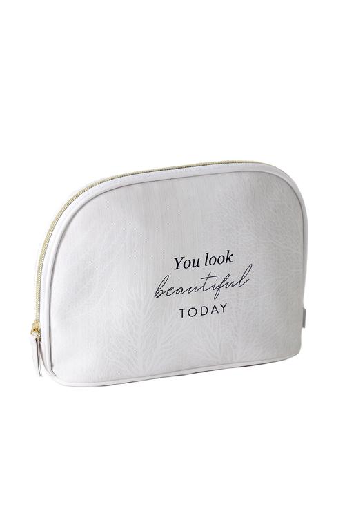 Splosh Sophisticated Hamptons Coral Cosmetic Bag