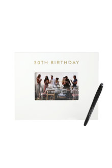 Splosh 30th Birthday Signature Frame - 281317