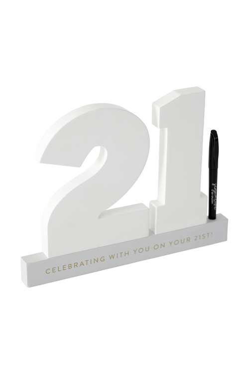 Splosh 21st Birthday Signature Number