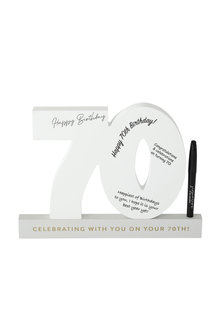 Splosh 70th Birthday Signature Number - 281329