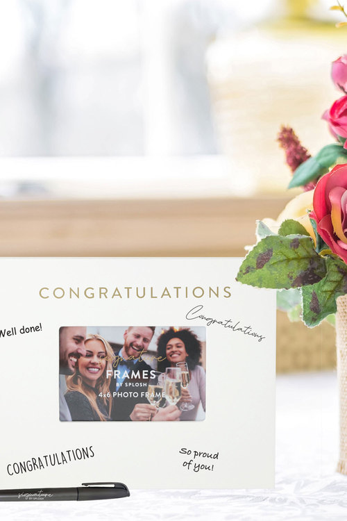 Splosh Congratulations Signature Frame