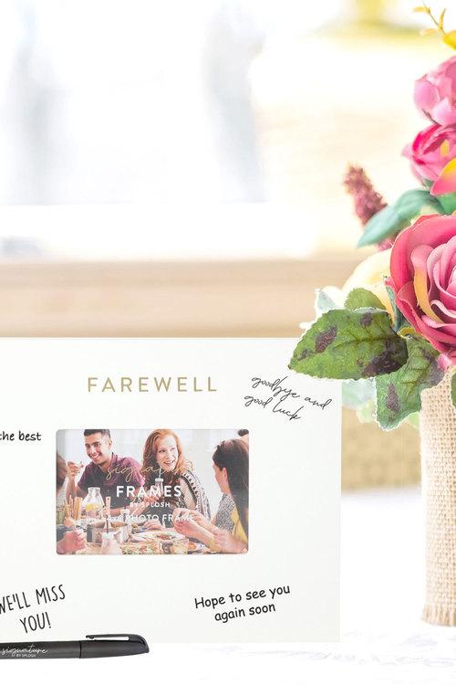 Splosh Farewell Signature Frame
