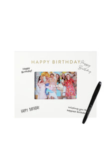 Splosh Happy Birthday Signature Frame - 281335