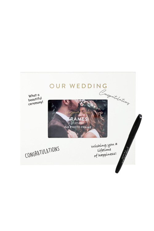 Splosh Wedding Signature Frame