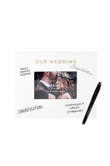 Splosh Wedding Signature Frame - 281336