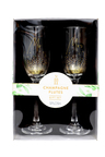 Splosh Wedding Mr & Mrs Champagne Flute Set