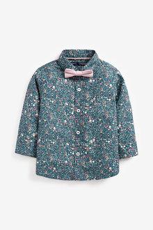 Next Long Sleeve Ditsy Print Shirt (3mths-7yrs) - 281345