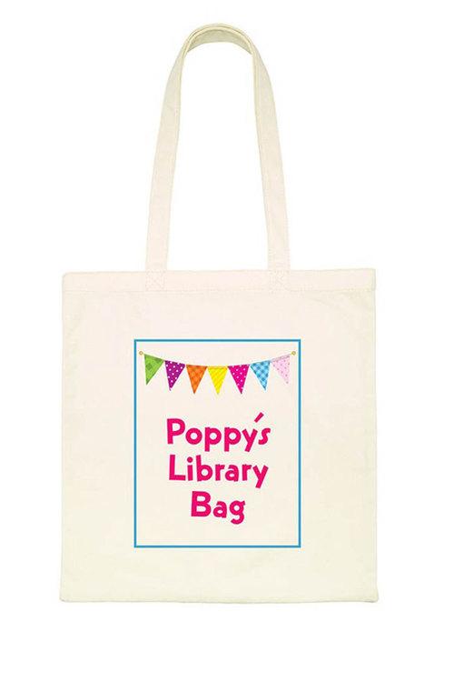 Personalised Bunting Tote Bag