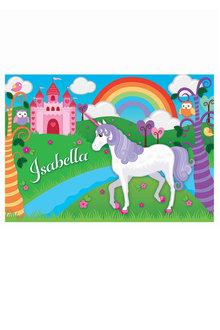 Personalised Unicorn Placemat - 281388