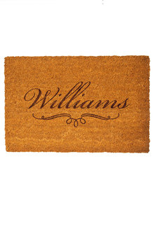 Personalised Classic Name Coir Doormat - 281402