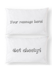 Personalised Custom Message Pillowcase Set - 281403