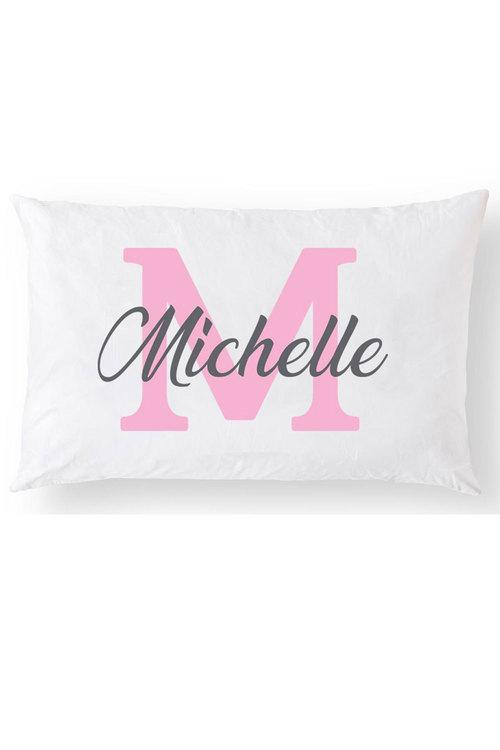 Personalised Monogram Pillowcase
