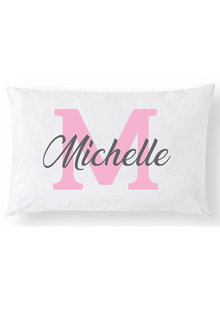 Personalised Monogram Pillowcase - 281405