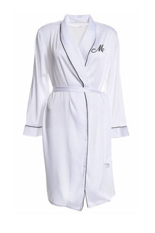 Personalised Embroidered Satin Robe - 281408